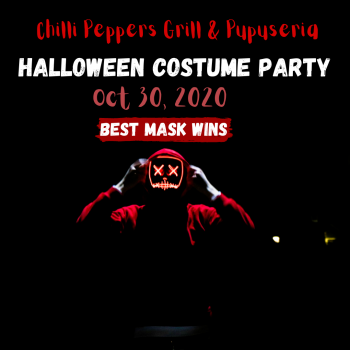 Chilli Peppers Grill & Pupuseria, Halloween Costume Party
